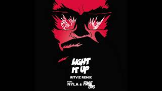 Major Lazer - Light It Up (feat. Nyla x Fuse ODG)(Ritviz Diwali Edition)