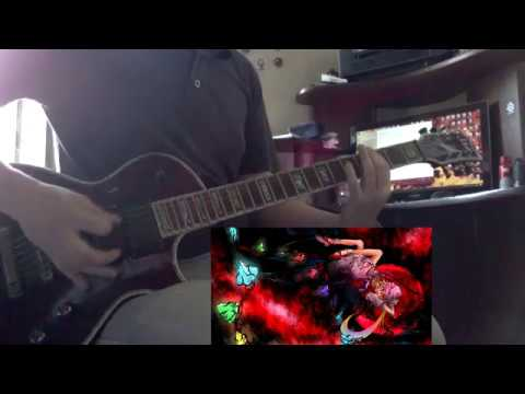 Draw the Emotional - Red madness and my desire - Guitar cover (TAB)
