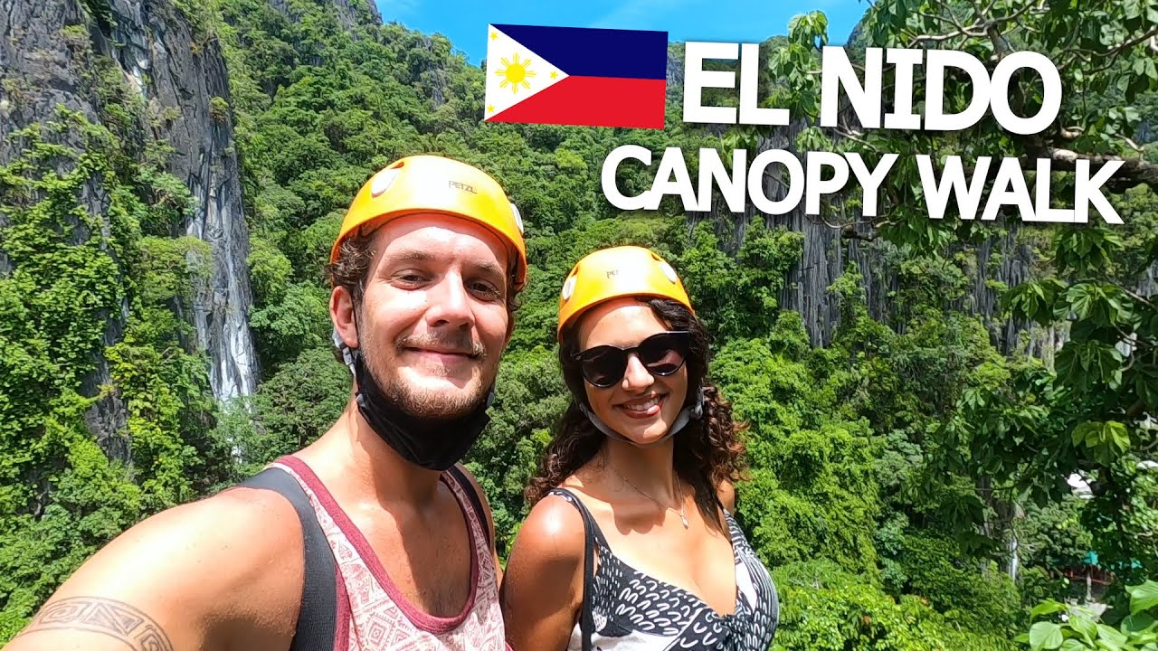 EL NIDO FROM ABOVE 🇵🇭 CANOPY WALK & CORONG CORONG