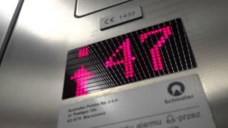 Winda w Sky Tower 50 pięter 206 metrów! full hd 29/01/2014