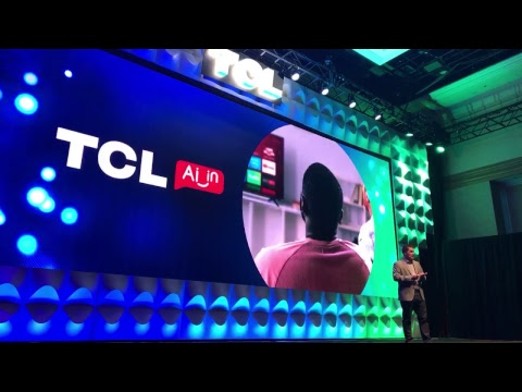 TCL Press Conference at CES 2019