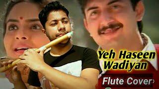 Yeh Haseen Vadian   Flute Instrumental Cover   @A. R. Rahman   Roja   Harish Mahapatra