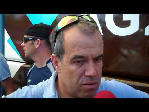 Vincent Lavenu, directeur sportif d'AG2R.wmv.WMV
