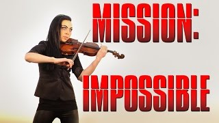 """Mission Impossible"" Theme  (Electric Violin Cover Cristina Kiseleff)"