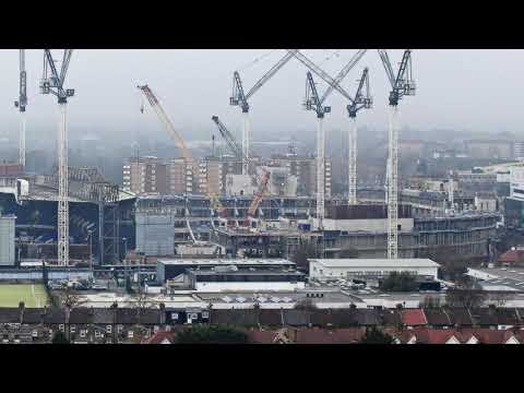 New Spurs Stadium Time Lapse -Dec 2016 to Mar 2019
