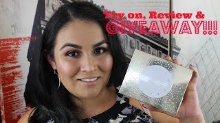 Becca x Jaclyn Hill Face Palette Try on, First Impression & Giveaway!!! CLOSED