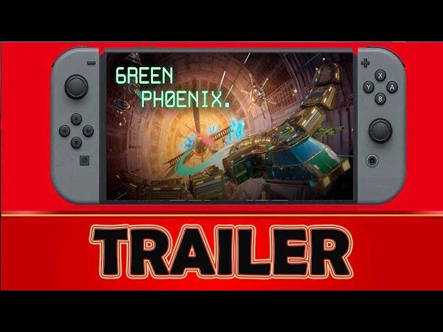 Green Phoenix Nintendo Switch