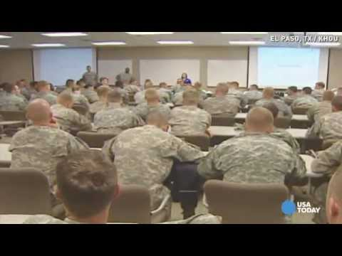 U.S. soldiers prepare for Ebola mission to West Africa