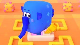 Четверо в кубе - Путешествие - развивающий мультфильм для детей