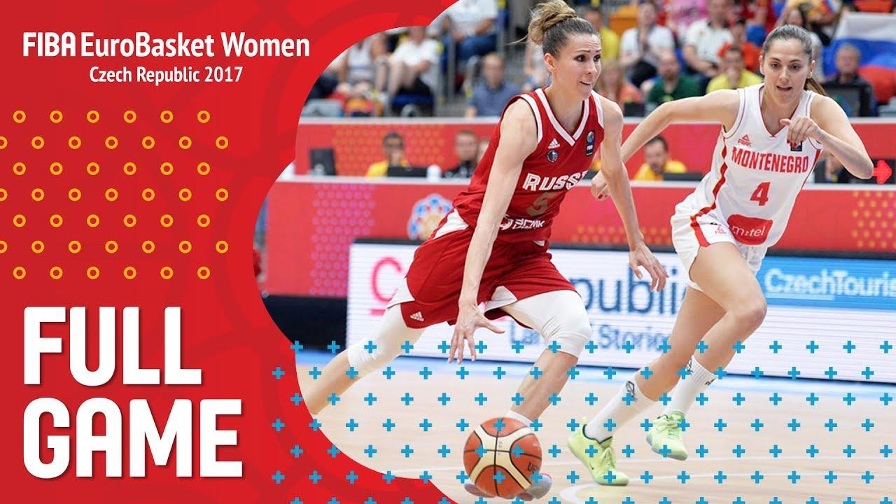 Montenegro v Russia - Full Game - FIBA EuroBasket Women 2017