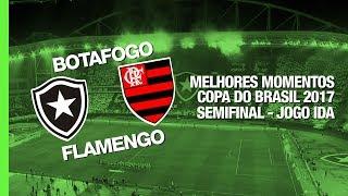 Melhores Momentos - Botafogo 0 x 0 Flamengo - Copa do Brasil - 16/08/2017