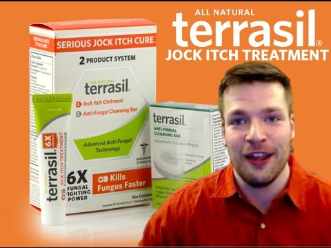 terrasil Jock-Itch Testimonial