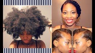 classy jumbo crown twist tutorial natural hair
