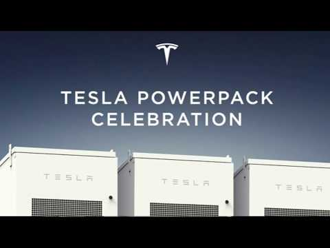 ELON MUSK - Tesla Full Speech 09.29.2017 Powerpack Celebration South Australia