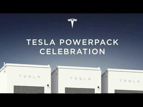 ELON MUSK - Tesla Full Speech 09.29.2017 Powerpack Celebration South Australia