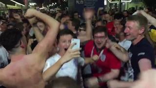 ENGLAND FANS IN RUSSIA 2018
