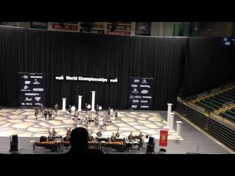 "Ravenwood High School Winter Drumline 2015 - ""Legion"""