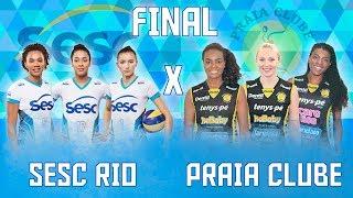 A grande final da Superliga feminina - Sesc RJ x Praia Clube | Danilo Rosa