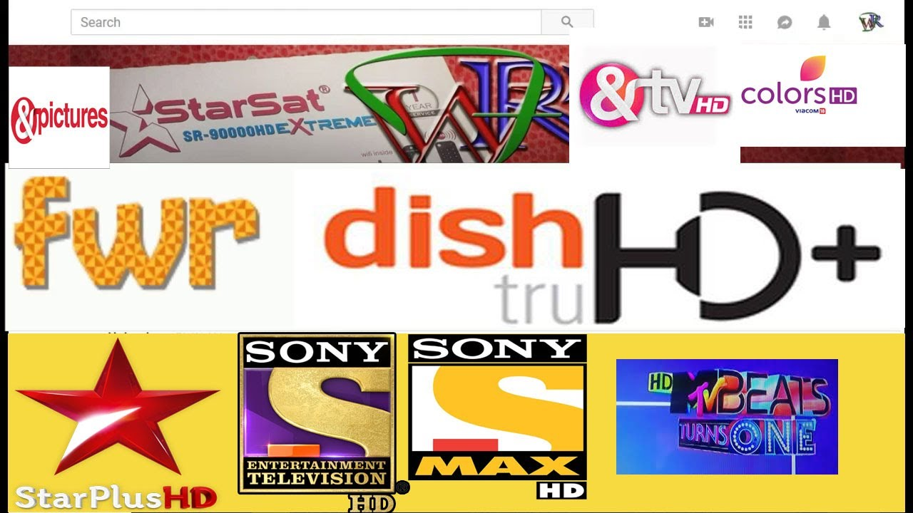 Starsat Sr-90000 HD   DIshTV HD channels Package Opens completely NOW!!!!!