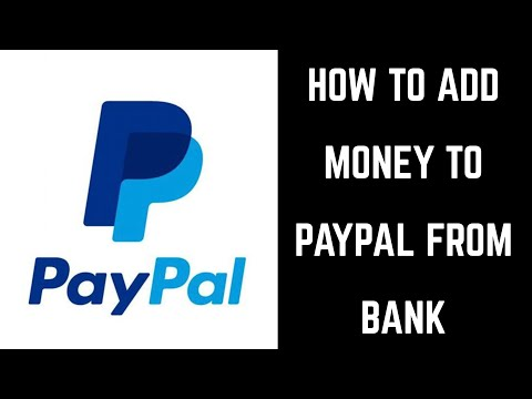 How to transfer money from paypal back into bank account
