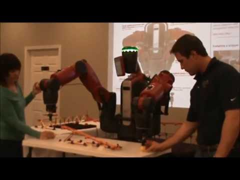 BAXTER from Rethink Robotics Demo