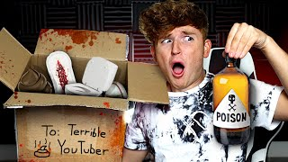 I Let A HATER Send Me $1,000 Mystery Box..