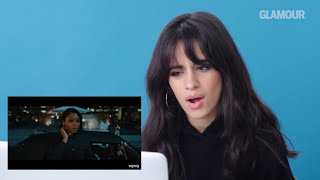 Camila Cabello reacts to Fifth Harmony
