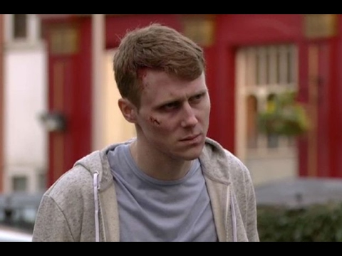 EastEnders - Jay Brown Attacked By Thugs (27th April 2016)