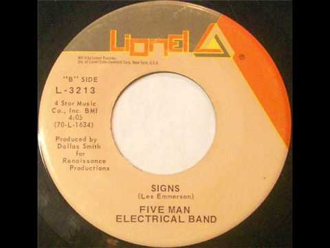 Five Man Electrical Band - Signs (1971)