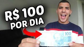 Ganhe R$ 100 Por dia na Internet rapidamente (SUPER FÁCIL)