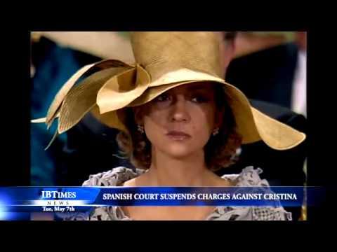 Spanish Court Suspends Charges Against Princess Cristina