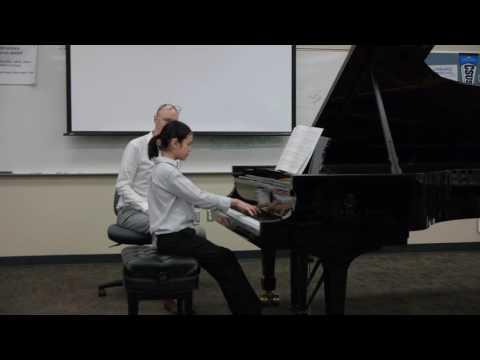 Zak Mustille-Brahms Op. 79 No. 2 Master-Class with Composer Craig Richey