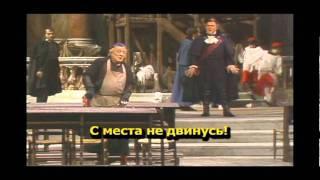 Тоска Пуччини с правильным русским переводом. Акт 1.