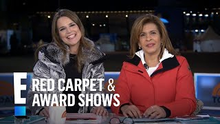 Hoda Kotb & Savannah Guthrie Gush Over Chloe Kim | E! Live from the Red Carpet
