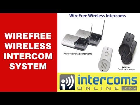 WireFree Wireless Intercom at www.IntercomsOnline.com - 888-298-9489из YouTube · Длительность: 1 мин21 с  · Просмотры: более 6,000 · отправлено: 12/9/2010 · кем отправлено: IntercomsOnline