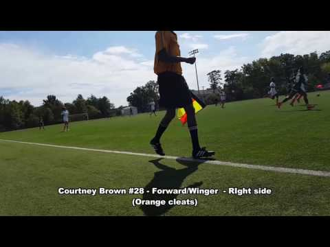 Courtney Brown 2016 Fall ECNL Highlights
