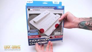 Station de chargement induction Wii Blanche - store.logic-sunrise.com