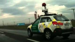 Carro do Google Maps em Porto Alegre Google Street View Free HD Video