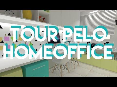 TOUR PELO NOVO HOMEOFFICE