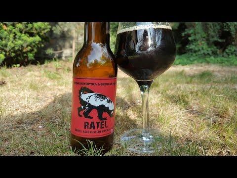 Browar Kopyra & Browar Widawa Ratel Barrel Aged Russian Imperial Stout  Polish Craft Beer Review