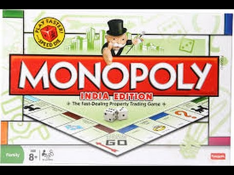 Unboxing MonoPoly (Business) Game - India Edition - Property Dealing