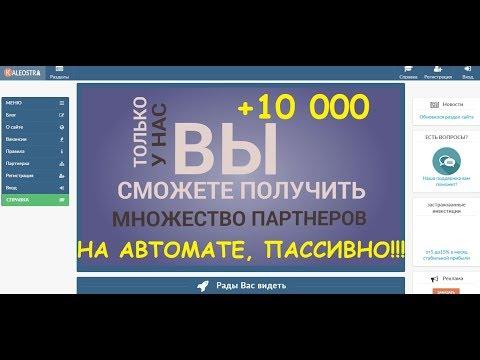 Kaleostra. Сотни рефералов на автомате!!! +10 000 на випе!