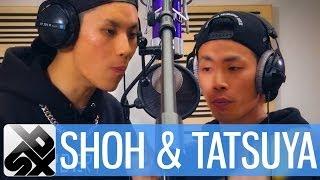 SH0H & TATSUYA    Grand Beatbox Battle Studio Session '13 thumbnail