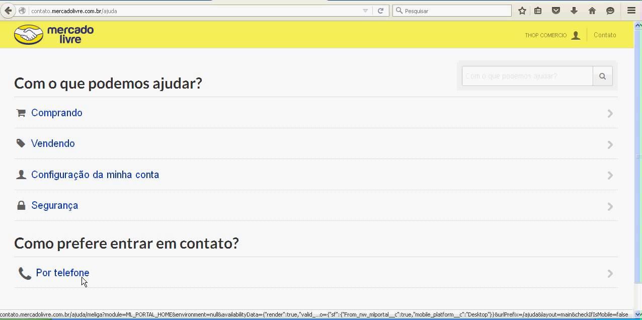 Contato Com Mercado Livre Por Chat E Telefone Rápido Simples