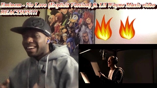 Gambar cover Eminem - No Love (Explicit Version) ft. Lil Wayne MUSIC VIDEO REACTION!!!