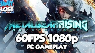 Metal Gear Rising: Revengeance PC [60 FPS 1080p]