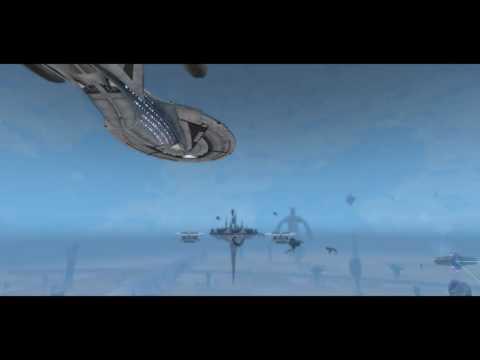 Star Trek Online PS4. Solanee Dyson Sphere.