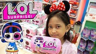 Jessica Jenica Buy + Unboxing 2 LOL Surprise Under Wraps 💖 dapat mainan apa ya? pasti lucu dan imut