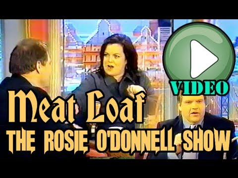 Meat Loaf on the Rosie O'Donnell Show