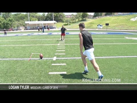 9915f5ce4b Top Kicker in America | Logan Tyler | Kohl's Kicking Camps - YouTube